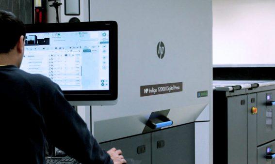 stampa digitale hp indigo 12000 hp indigo 15k milano