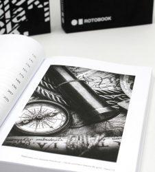 Il nuovo inchiostro nero Rotobook per immagini in scala di grigio di qualità