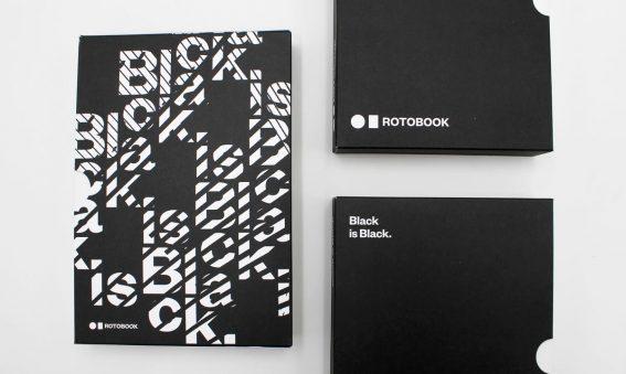 Black is Black Rotobook - Il nuovo inchiostro nero per la stampa di libri