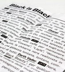 Il nero ha fatto storia